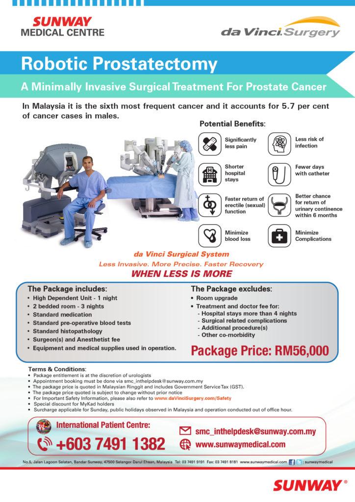 bedah robot prostat