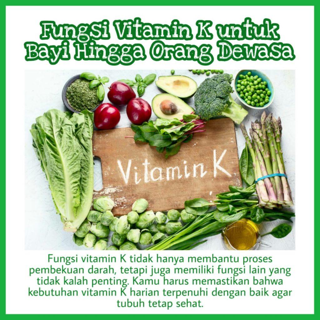 fungsi vitamin K untuk bayi dan dewasa medione sunway pantai gleneagles adventist melaka malaysia kesehatan